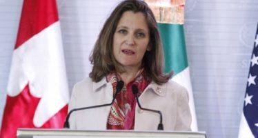Canadá se incorporará a reuniones sobre TLCAN, en los siguientes días