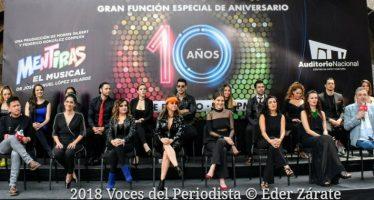 """Celebrará """"Mentiras"""" su décimo aniversario en el Auditorio Nacional"""