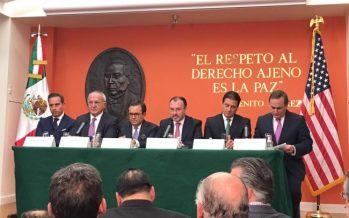 """Luis Videgaray: Para México es """"prioridad"""" que Canadá sea parte del TLCAN"""