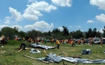 Delegación Iztapalapa recupera predio invadido en Cerro de la Estrella