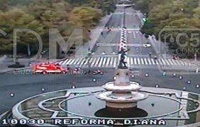 Duatlón y paseo ciclista provocan cierres a la circulación en Reforma