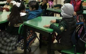 El presidente Peña Nieto deseó éxito a estudiantes en el regreso a clases