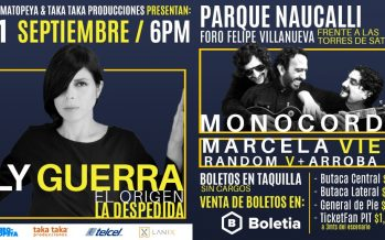 """Ely Guerra cierra su gira """"El Origen"""" en Parque Naucalli"""