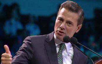 Preparamos a jóvenes para encarar con éxito los retos de mañana Peña Nieto