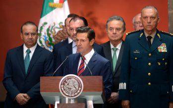 Reconoce Peña Nieto fracaso en combate a delincuencia organizada