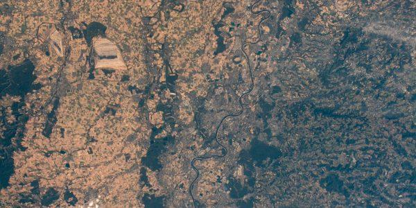 Europa desde el espacio. (@Astro_Alex)