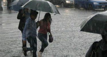 Hoy continuarán las tormentas y lluvias en casi todo el país