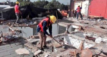 Inicia construcción de edificio para damnificados en Tlalpan