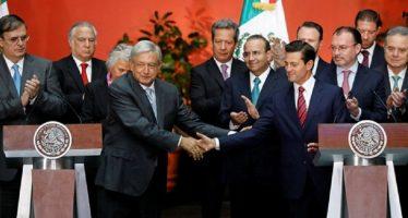 Inician Peña Nieto y López Obrador proceso formal de transición