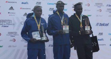 Kenia se apodera de Maratón de la Ciudad de México 2018