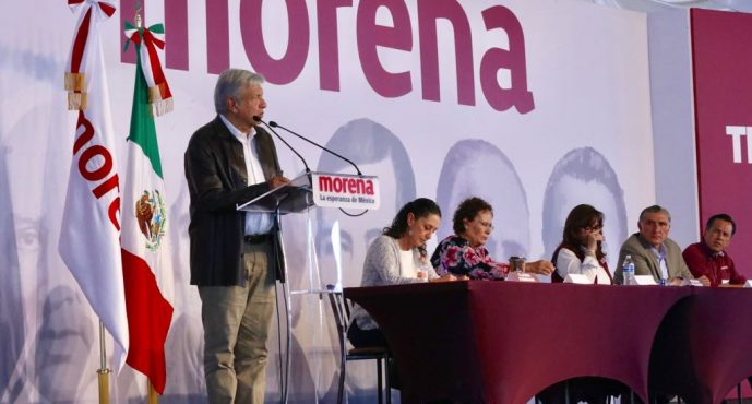 Transformación será pacífica, pero profunda y ordenada: López Obrador