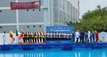 México cierra con oro en natación artística por equipos, en los Centroamericanos y del Caribe