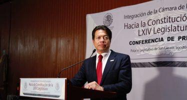 Diputados ganarán menos de 100 mil pesos mensuales: Mario Delgado