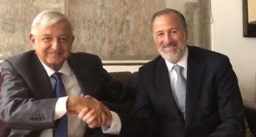 Meade agradece oportunidad de conversar con López Obrador