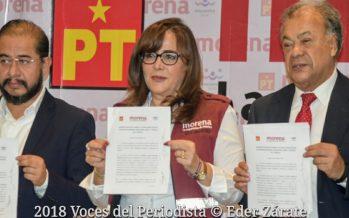 Morena, PT y PES firman acuerdo político de unidad y acción legislativa