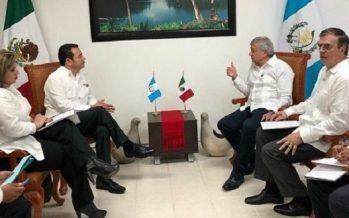 Necesario aumentar inversiones entre México y Guatemala, afirma Jimmy Morales