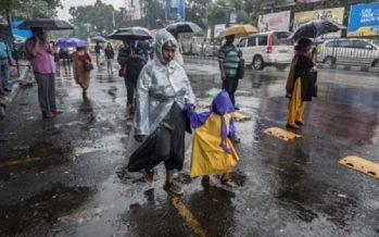 Tormentas muy fuertes afectarán a ocho estados del país