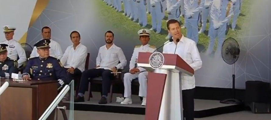 Transición ordenada y eficaz, muestra de madurez democrática Peña Nieto