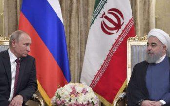 Putin y Rohani examinan la crisis en Siria; mantienen cooperación