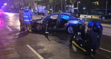 Siete accidentes de tránsito movilizan esta mañana a cuerpos de rescate