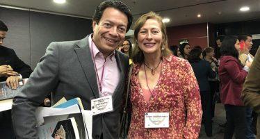 Tatiana Clouthier se pronuncia por Mario Delgado como coordinador de Morena en San Lázaro