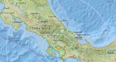 Terremoto de 6,0 sacude Costa Rica