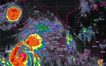 Tormenta tropical Ileana se integrará a huracán John