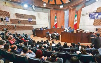 Tribunal Electoral inicia sesión para aprobar dictamen de validez de comicios
