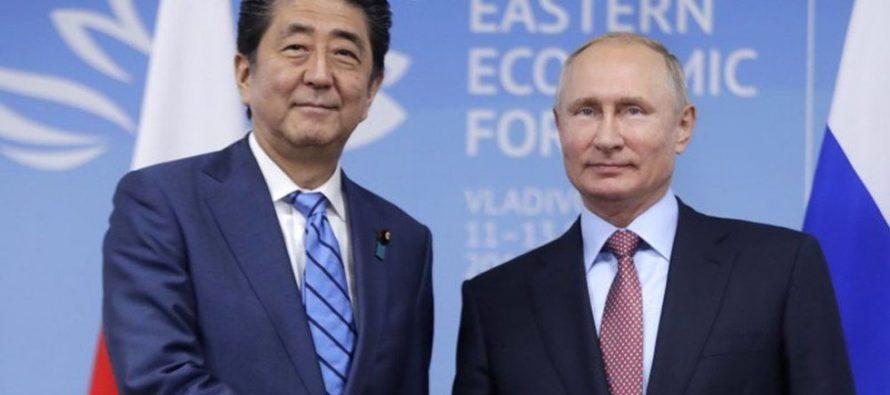 Abe se reunirá con Putin para analizar tratado de paz