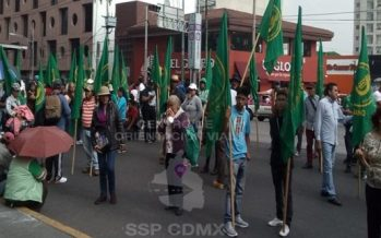 Al menos tres manifestaciones afectarán la circulación en la capital
