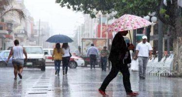 Aumenta potencial de lluvias en zonas montañosas y sur de Veracruz