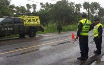 Autoridades continúan labores de apoyo tras lluvias en Sinaloa