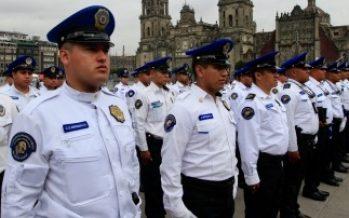 Autoridades vigilan actividades en el Zócalo por festejos patrios