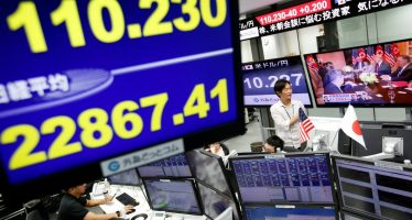 Bolsas de Asia caen ante persistente guerra comercial EUA-China
