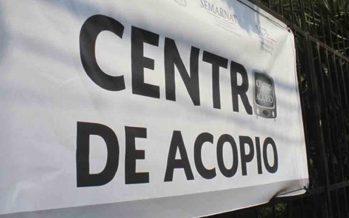Centro de acopio, abierto todo el día para damnificados de Sinaloa