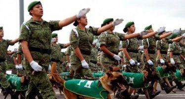 Cerradas diversas calles de la capital por Desfile Militar