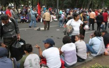 Cierran Paseo de la Reforma por avance de manifestantes