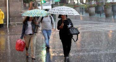 Ciudad de México registrará cielo nublado, lluvias y chubascos