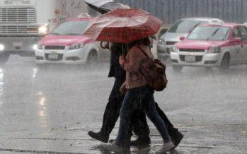 Continuarán las lluvias fuertes y el granizo en gran parte de la capital