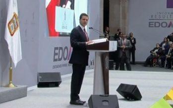 Cuidar lo ya construido permitirá el progreso de México, afirma Peña Nieto