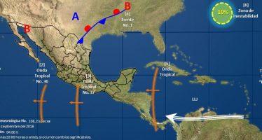 Depresión tropical se convierte en tormenta tropical Paul