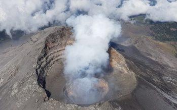 Detectan en sobrevuelo, domo de lava en volcán Popocatépetl