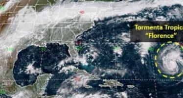 """EUA se prepara ante """"daño masivo"""" por huracán Florence"""