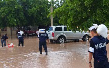 Ejército traslada víveres a municipios de Sonora afectados por lluvias