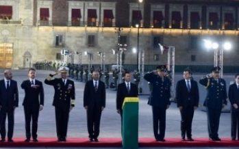 Encabeza Peña Nieto ceremonia por víctimas de los sismos de 1985 y 2017