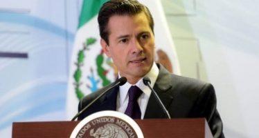 Encarar las emergencias que vive una nación, siempre será un gran reto: Peña Nieto