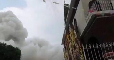 Procuraduría capitalina indaga explosión de pirotecnia en Coyoacán