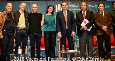 El Festival de Música de Morelia Miguel Bernal Jiménez celebra 30 años
