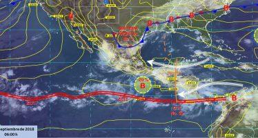 Frente frío número 2 ocasionará tormentas en el norte y noreste del país