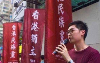 Gobierno de Hong Kong prohíbe partido secesionista